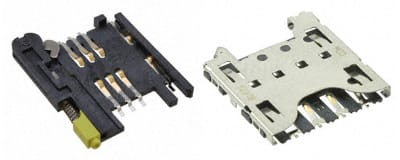 SIM & Combo Card Connectors Image